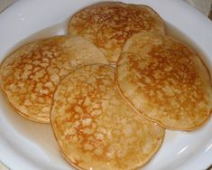 Body for Life Protein Pancakes Nutrition Facts:  Calories: 323  Protein: 37 g  Carbs: 40 g  Fat: 2 g  EmilyAlvers