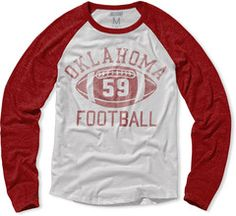 Oklahoma Football Raglan