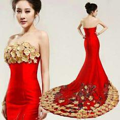 Rote kleider fur eine hochzeit