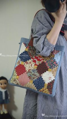 Best 12 Items similar to Boho Chic, One of a kind, Handmade, Fiona – SkillOfKing. Patchwork Bags, Quilted Bag, Pinterest Patchwork, Handmade Fabric Bags, Japanese Bag, Mysore, Linen Bag, Tote Pattern, Leather Clutch Bags