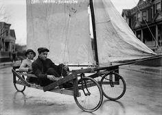 Sail Wagon, Brooklyn by Bain News Service via wikipedia: Taken c. 1910.