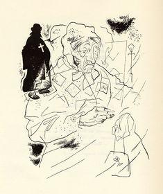 "Yury Annenkov illustration for Alexander Blok's poem ""The Twelve"" (1918)"