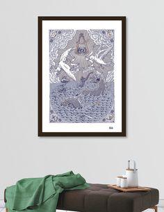 Découvrez «JUSQU'AU BOUT DU MONDE», Édition Limitée Affiches d'art par MR DEKA - À partir de 27€ - Curioos