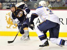 Jordin Tootoo - Nashville Predators hockey