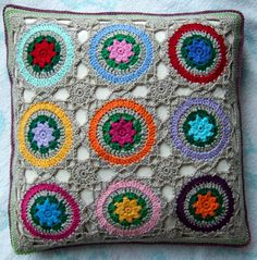 Mystery Motif Pillow by solgrim, via Flickr