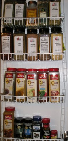 Food Storage, Bulk Spices, And My Must Haves