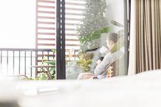 Enjoy city view at private balcony of superior room. Bangkok Restaurant, Bangkok Hotel, Garden City Hotel, Urban Rooms, Superior Room, Free Wifi, Perfect Place, Balcony, Modern Design