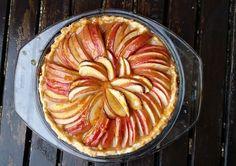 Francouzský jablkový koláč Ratatouille, Apple Pie, Cheesecake, Food And Drink, Menu, Treats, Cooking, Ethnic Recipes, Sweet