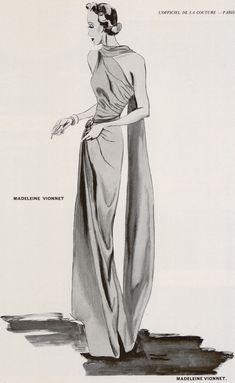 História da Moda As grandes Estilistas da Moda Européia – Madeleine Vionnet – Parte 2/5