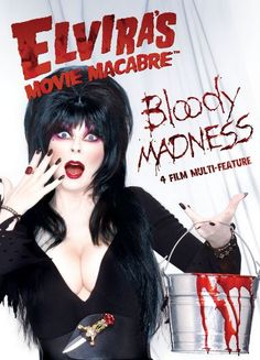 Special Four Film Multi-Feature with Bloody Madness #Elvira