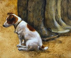 Henry Koehler  Jack Russel with Gum Boots