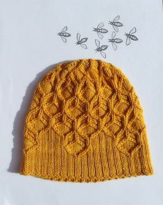 Beeswax hat pattern by Amy van de Laar @Craftsy
