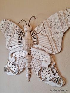 giant butterfly art