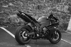 Yamaha He's in black ! Ride Or Die, My Ride, Sr1, Yamaha Yzf R1, Super Sport, Sport Bikes, More Photos, Akira, My Images