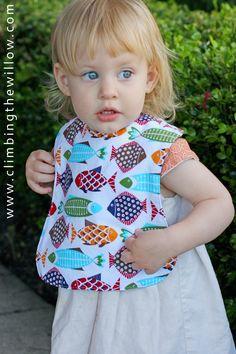 Baby bib tutoria/pattern