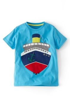 Mini Boden Vehicle Applique T-Shirt  from Nordstrom on shop.CatalogSpree.com, your personal digital mall.