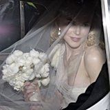 Nicole Kidman arrived at her Sydney ceremony to marry Keith Urban in June 2006.