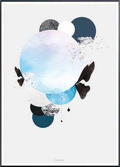 Affiche Scandinavia - Martin Moore