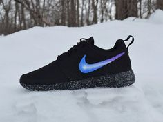 Nike Roshe Custom Painted Galaxy Roshe Run by UnleashedKustoms