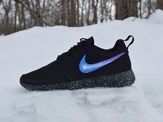 Nike Roshe Custom Painted Galaxy Roshe Run by UnleashedKustoms