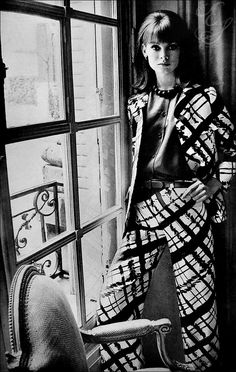 1960s Jean Shrimpton by David Bailey