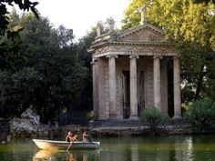 Gardens at Villa Borghese.