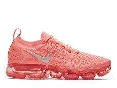 quality design 95c6e fa5c5 Officiel Nike Air VaporMax Flyknit 2 Coussin Dair Moins Chaussures De Course  Femme Poudre de cerise