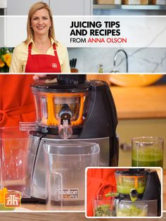 Anna Olson shares her tips for and also a delicious soup sipper Anna Olson, Tasty, Yummy Food, Kitchen Hacks, Juicing, Healthy Living, Soup, Drinks, Youtube