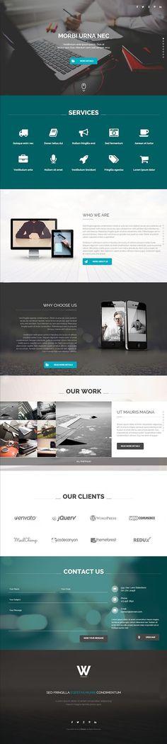 Wizard - Fullpage Portfolio Wordpress Theme by BeantownThemes #themeforest #website #webdesign