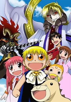 Zatch Bell (I watched a bit of this)