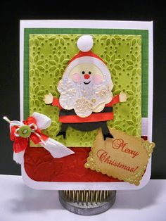 Little Scrap Pieces: Merry Christmas Cricut Christmas Cards, Cricut Cards, Xmas Cards, Greeting Cards, Pretty Pink Posh, Cricut Cartridges, Merry Christmas, Christmas Ornaments, Mickey Mouse And Friends