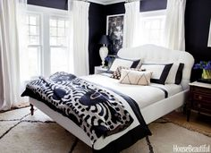 Home decor ideas bedroom stylish bedroom decorating ideas design pictures of for interior decorating ideas bedroom . home decor Beautiful Bedroom Designs, Beautiful Bedrooms, Beautiful Homes, House Beautiful, Modern Bedrooms, Home Bedroom, Master Bedroom, Bedroom Decor, Bedroom Ideas