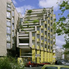 Slovak Architecture of the and - SkyscraperPage Forum Bratislava Slovakia, Streamline Moderne, Architect House, Brutalist, Minecraft Buildings, Eastern Europe, Architecture Design, Multi Story Building, Exterior