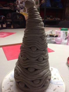 Ceramic christmas or Harry Potter? Keramiek kerstboom of sorteerhoed?