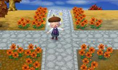 Animal Crossing: New Leaf QR Code Paths Pattern, nlpatterns: [credit]