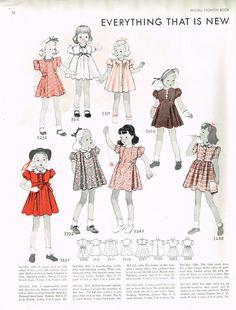 McCall Fashion Book, Autumn 1939 featuring McCall