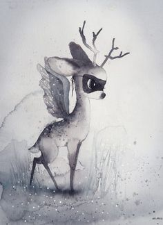 Dear Fawn by Mrs Mighetto | Poster from theposterclub.com