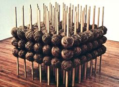 Eva Hesse reminding us of the majesty of ordinary materials.