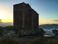 Portencross Castle, Ayrshire, Scotland