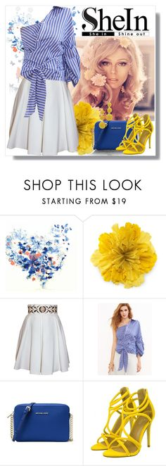 """""""Untitled #559"""" by istrijana ❤ liked on Polyvore featuring Gucci, Balizza, MICHAEL Michael Kors and Kenneth Jay Lane"""