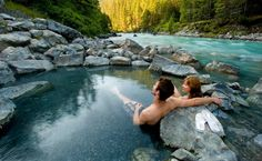 Hot springs (This one is in BC, but anywhere would do.)