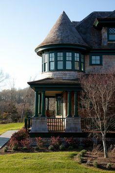 A. Tesa Architecture - classic shingle style home.