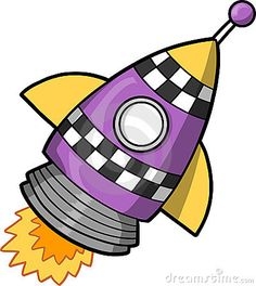 cartoon rocket pics clipart clipartix rockets pinterest rh pinterest com clip art rocket blasting off rocket ship clipart