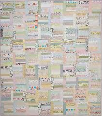 A Low-volume quilt.  I wonder if I could do one this quiet?  From: sunday morning quilts.  Not usually my style, but wow.
