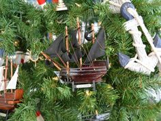 Black Bart's Royal Fortune Christmas Tree Ornament from Handcrafted Nautical Decor - In stock and ready to ship