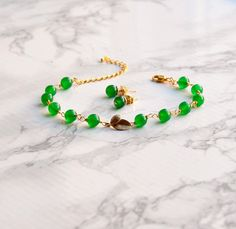 Green jewelry, gemstone jewelry, jewelry set with gems studs and a delicate bracelet, leaf jewelry Jade Jewelry, Leaf Jewelry, Gemstone Jewelry, Jewelry Sets, Handmade Shop, Handmade Jewelry, Cardboard Jewelry Boxes, Jade Beads, Special Gifts