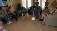 minute to win it games - great for kids and would make fun family party/ game night.