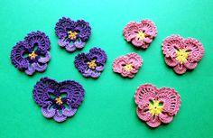 💐 Flor de Crochê Receita Amor- Perfeito  -  /  💐 Crochet Flower Recipe Love - Perfect -