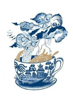 Image result for storm in a teacup art