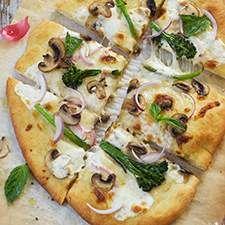 Pizza Crust: King Arthur Flour